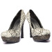 Phesant Feather Covered Shoes