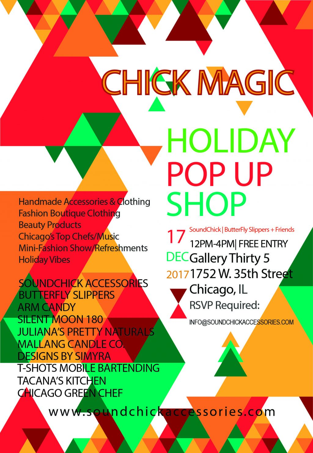 Chick Magic Holiday Pop Up Shop