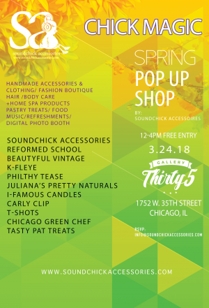 Chick Magic Spring Pop Up Shop