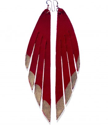 Red Leather Wings